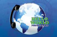 Hello World Phone Card